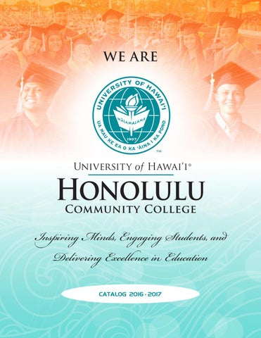 2016 2017 college catalog by honolulu community college issuu page 1 fandeluxe Images