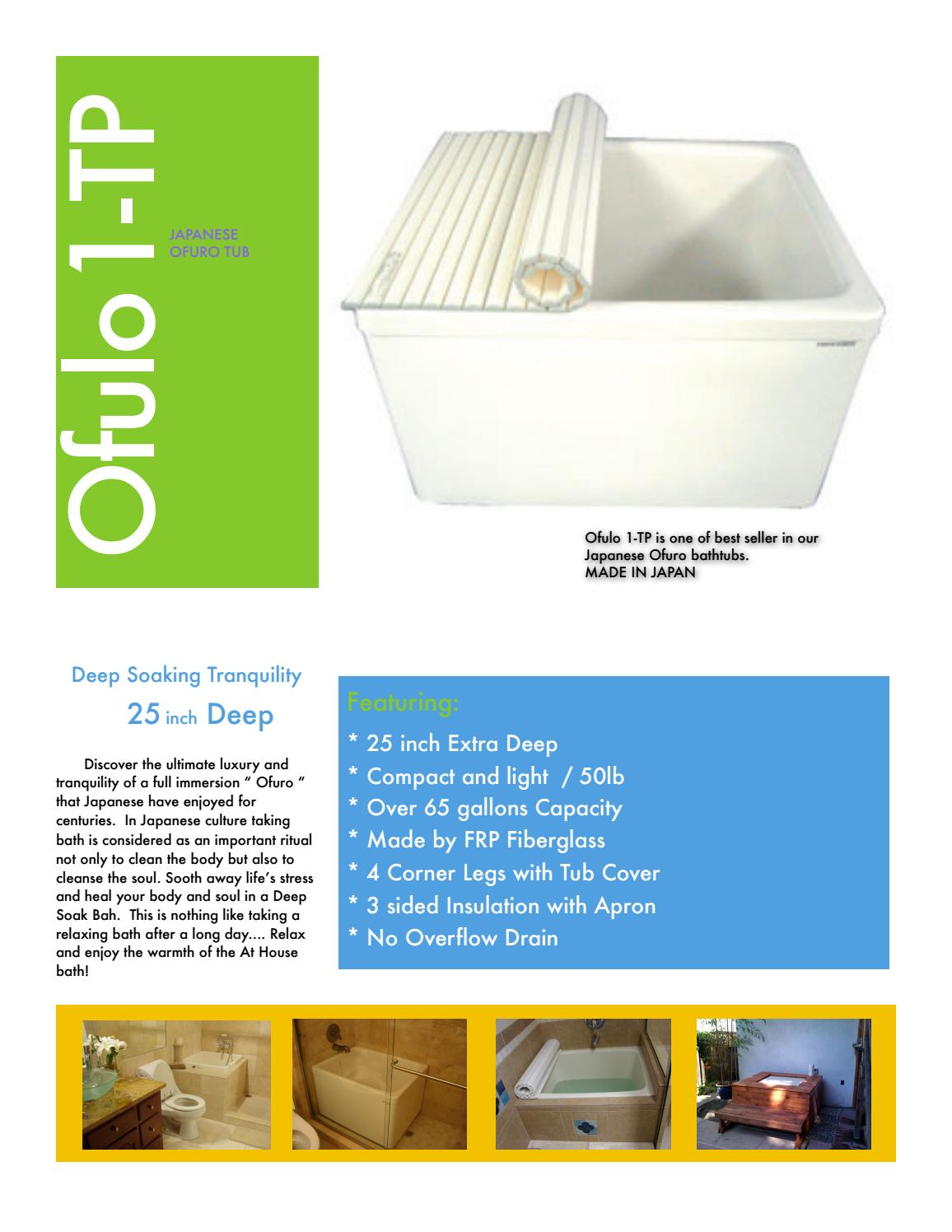 Ofulo 1 tp by The BATHROOM STORE - issuu