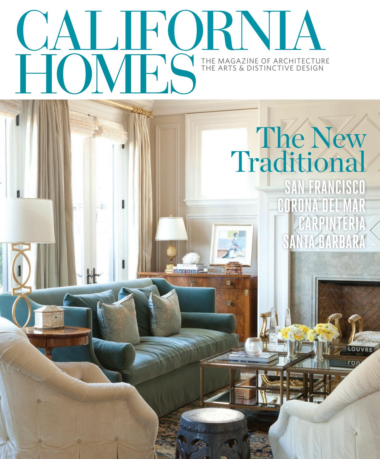 California homes spring 2016 by california homes for Home builders magazine