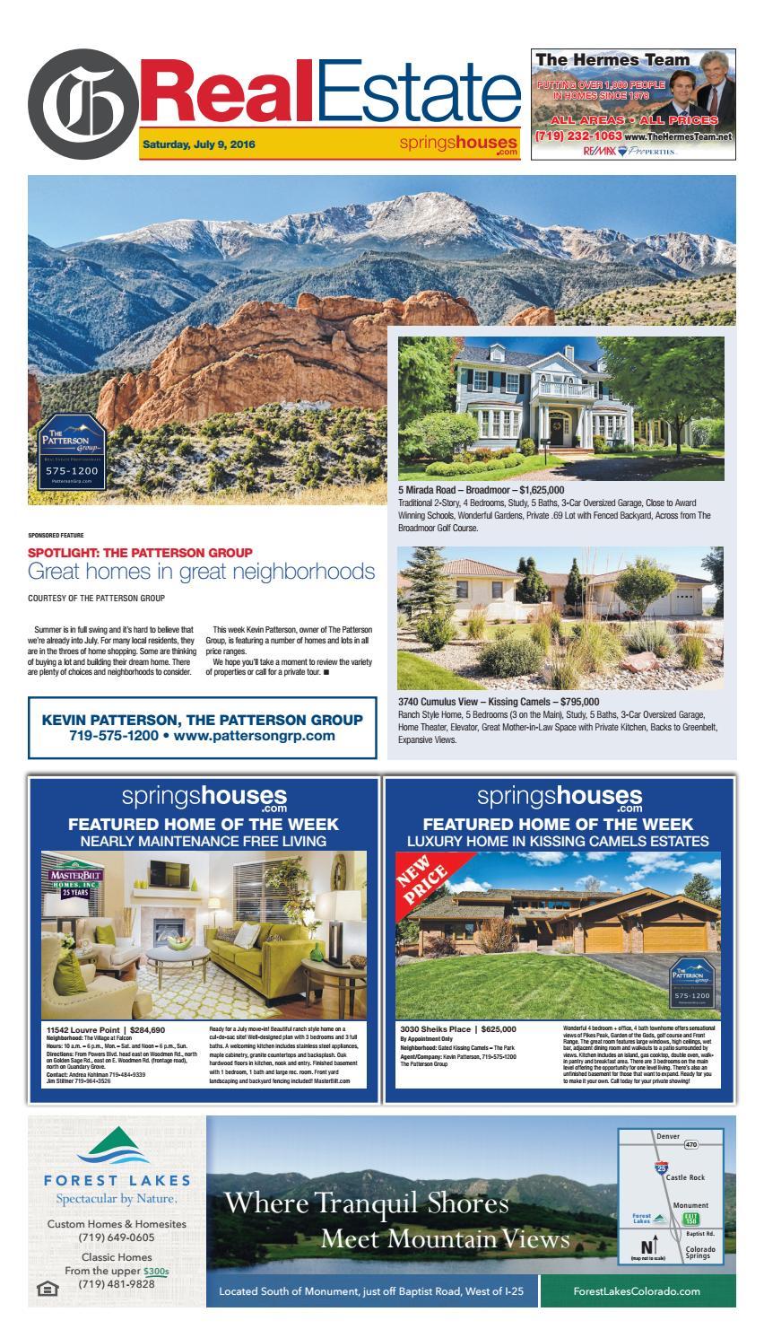 real estate 07 09 16 by colorado springs gazette llc issuu