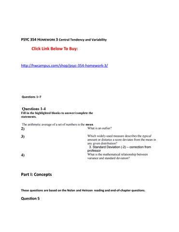 psyc 354 homework 3