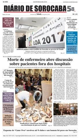 ba12418592 Edição de 09 de julho de 2016 by DIÁRIO DE SOROCABA - issuu