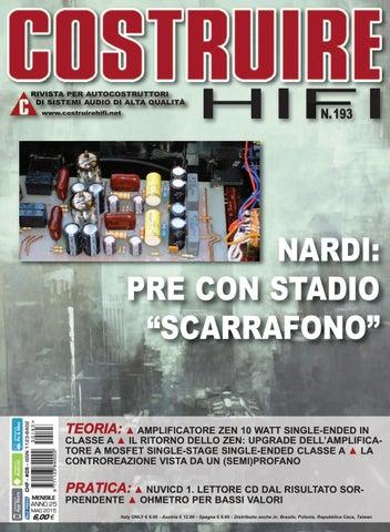 Schemi Elettrici Hi Fi : Costuire hifi n° may by andrea bassanelli issuu