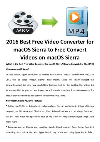 Best free video converter for macos by LucyMorries - issuu