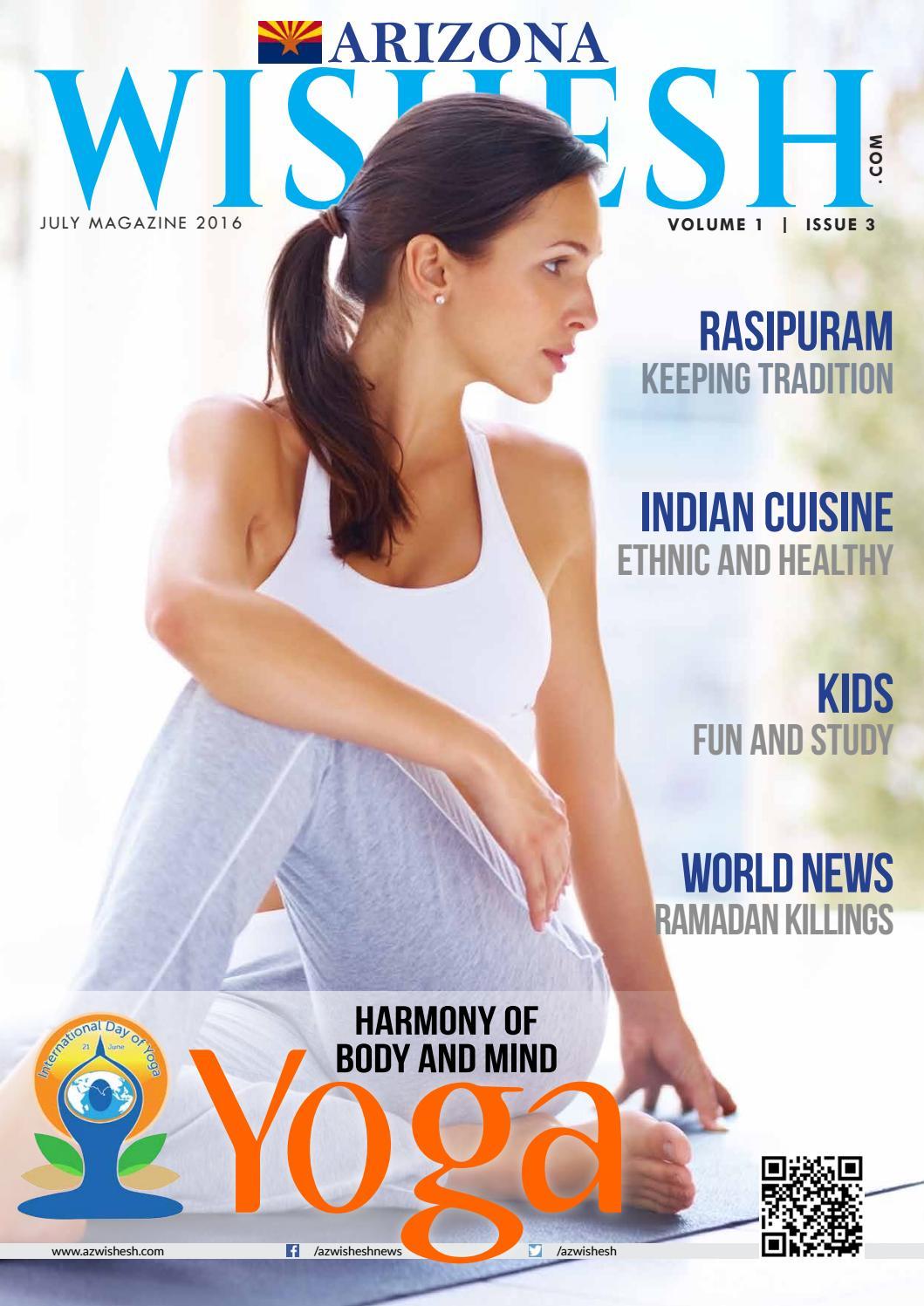 AZWishesh Magazine July 2016 by Wishesh Magazine - issuu