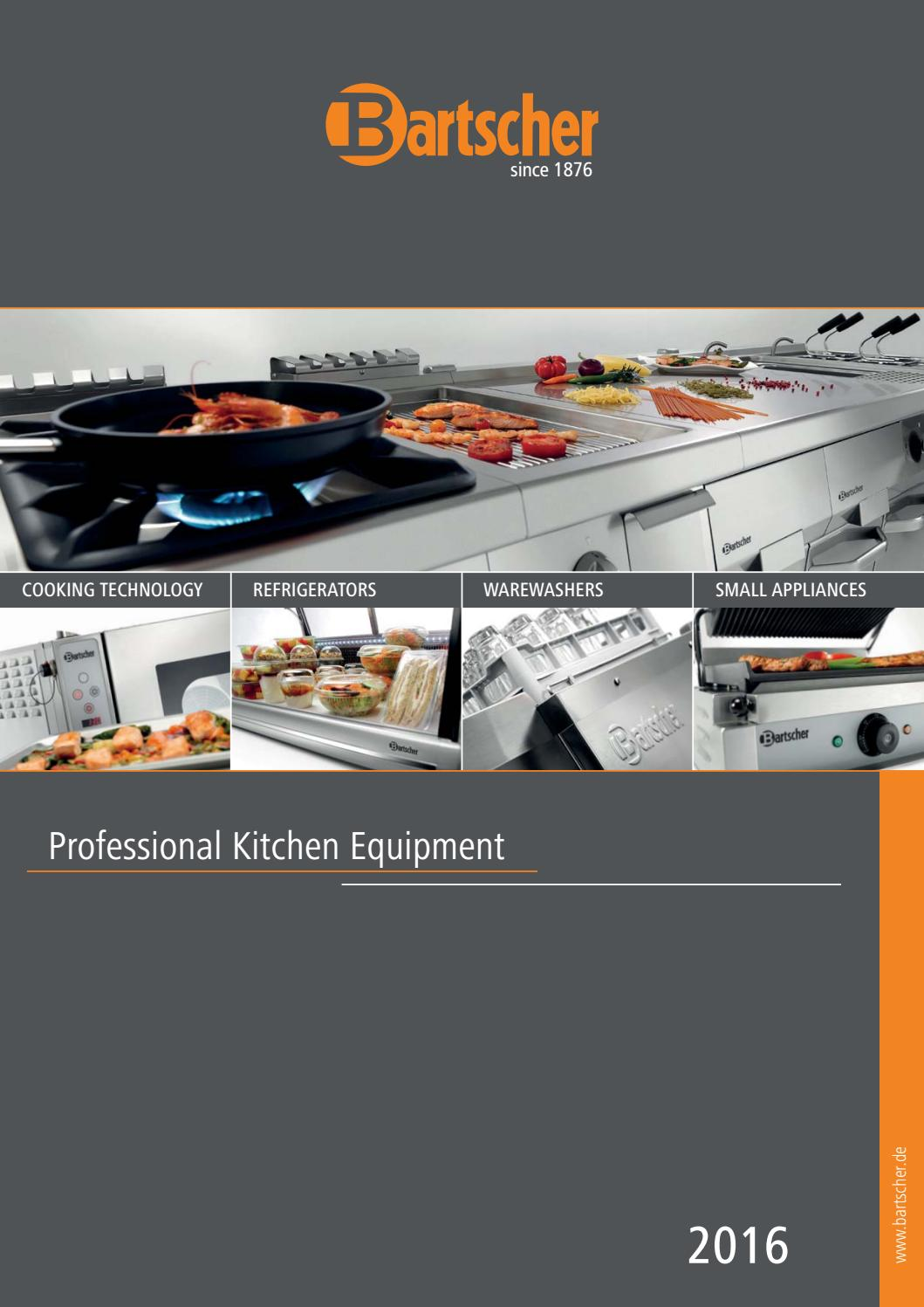 Bartscher Katalog 2016 Gb By Gmbh Issuu Electric 6 24kw Open Radiant Elements 2 1 Gn Oven With 4 Rack