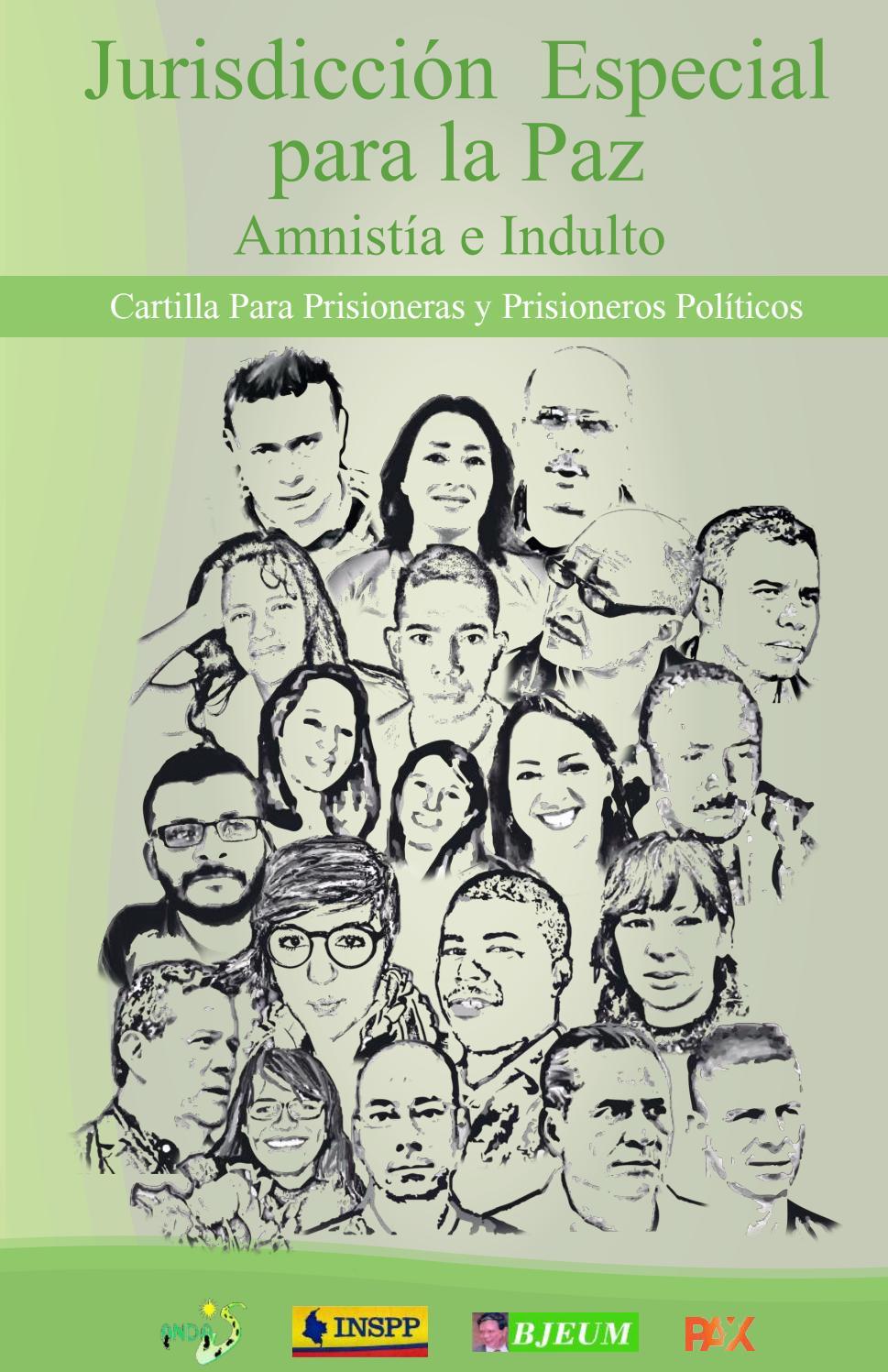 Cartilla jurisdiccion especial para la paz para prisioneras y ...