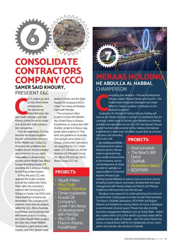 Construction Business News ME - July 2016 by BNC Publishing