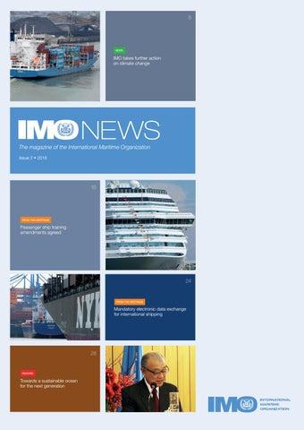IMO News - Issue 2 - 2016 by IMO News Magazine - issuu
