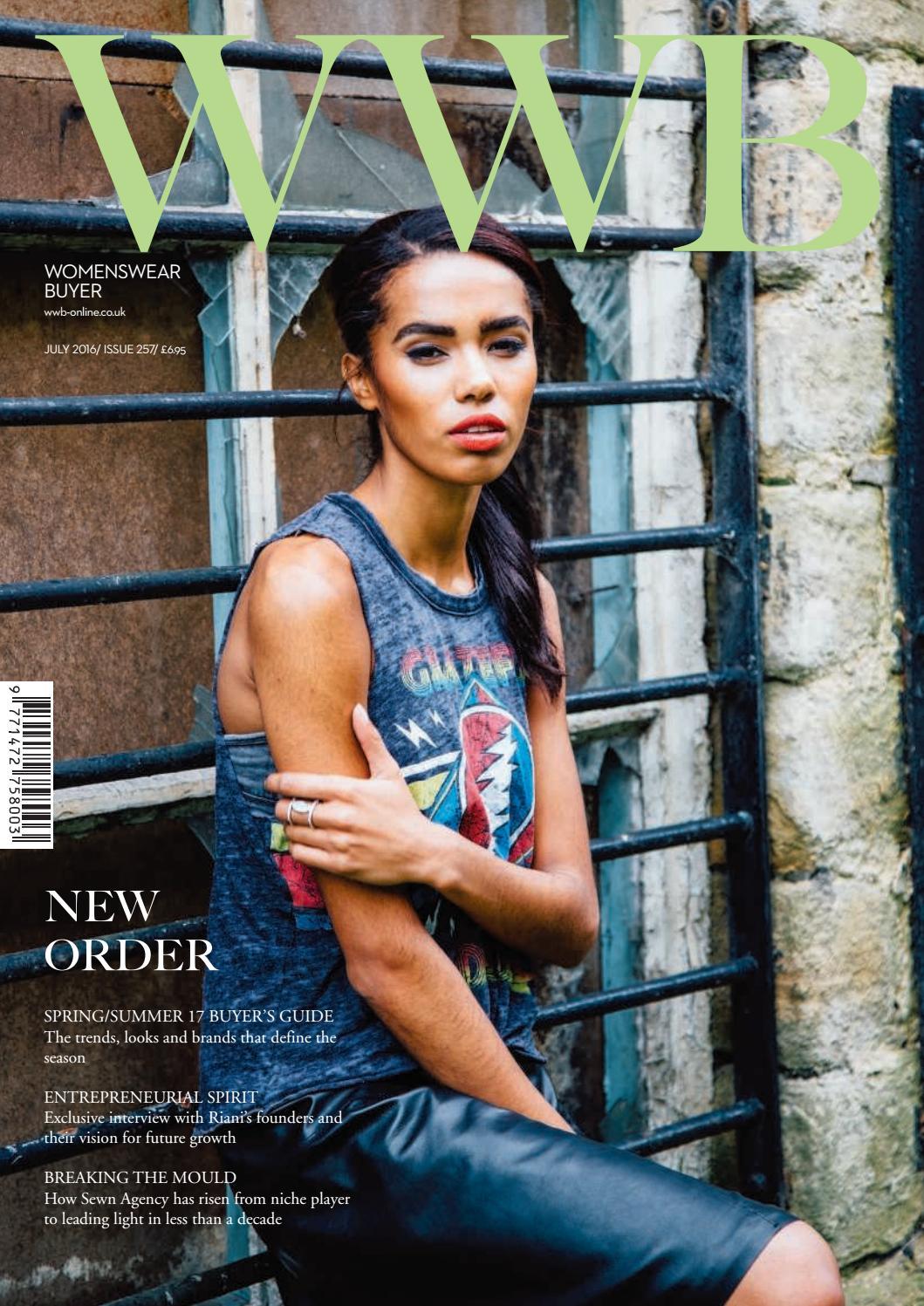 WWB MAGAZINE JULY ISSUE 257 by fashion buyers Ltd issuu