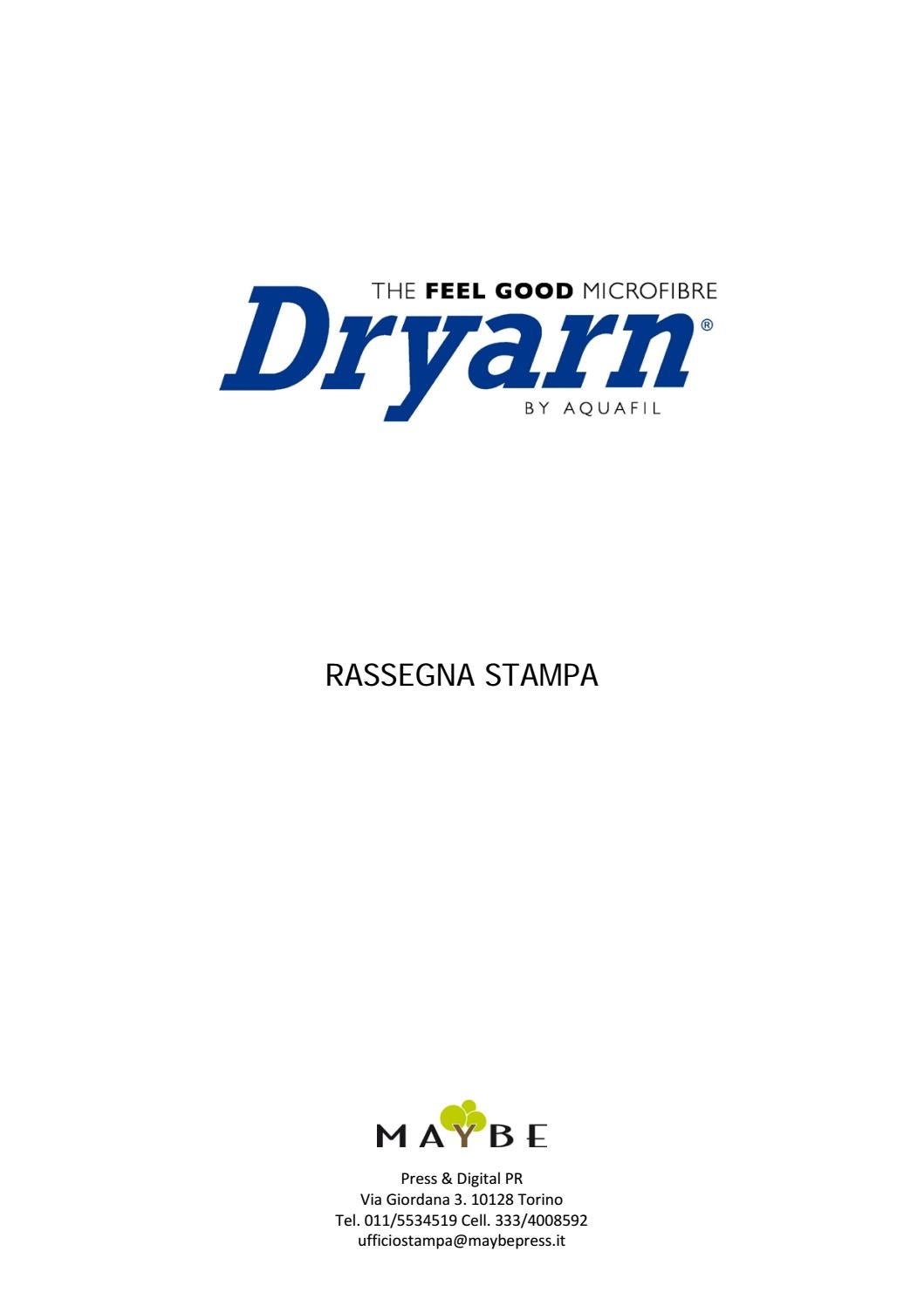Dryarn Rassegna Stampa  lug2016 by maybe ufficio stampa - issuu 8fda16f20594