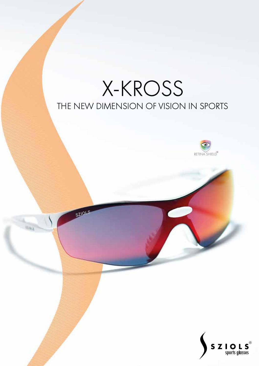 Sziols X-Kross Broschüre 2016 by Sziols Sportsglasses - issuu