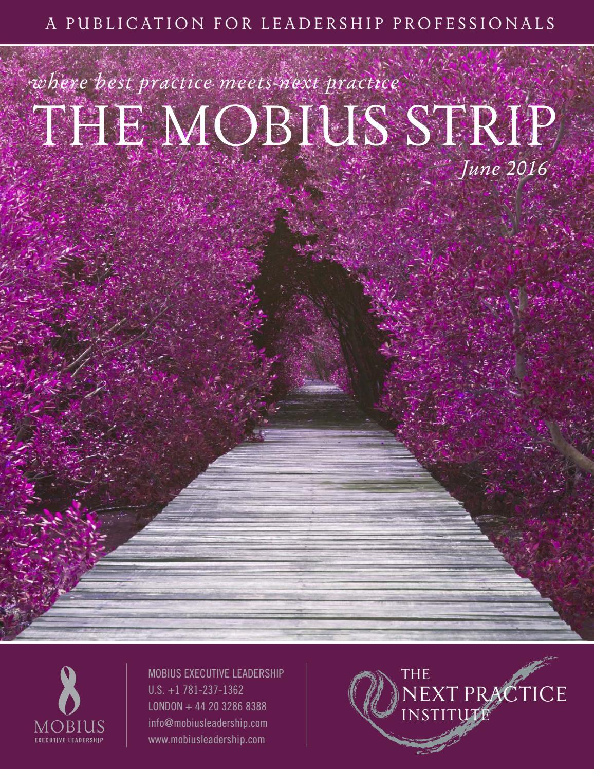 Mobius strip june 2016 by mobius executive leadership issuu izmirmasajfo