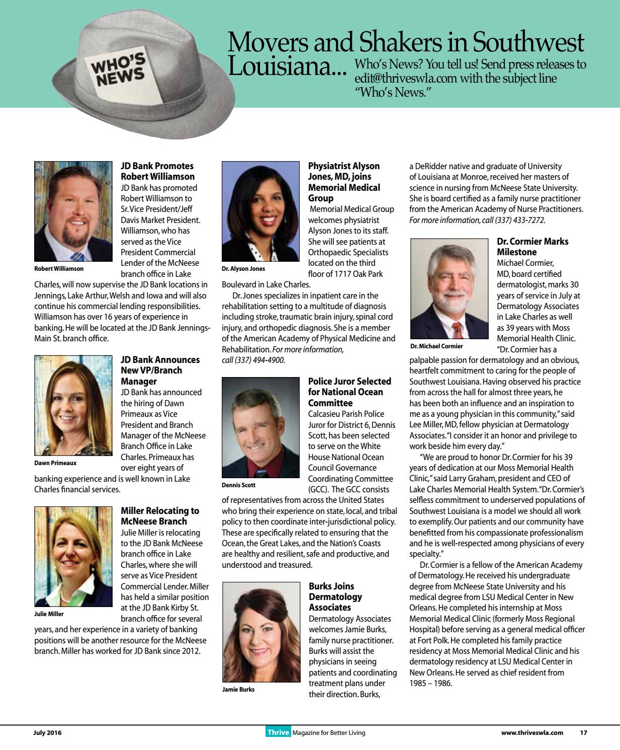 Thrive July 2016 Issue by Thrive Magazine - issuu