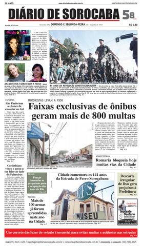 Edição de 10 de julho de 2016 by DIÁRIO DE SOROCABA - issuu e747cc9666ec7