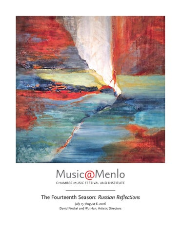 Musicmenlo 2016 Program Book By Claire Graham Issuu