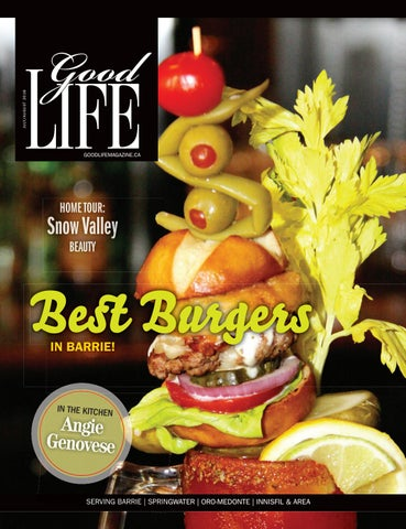 Goodlife Barrie Julyaugust 2016 By Goodlife Magazine Simcoe