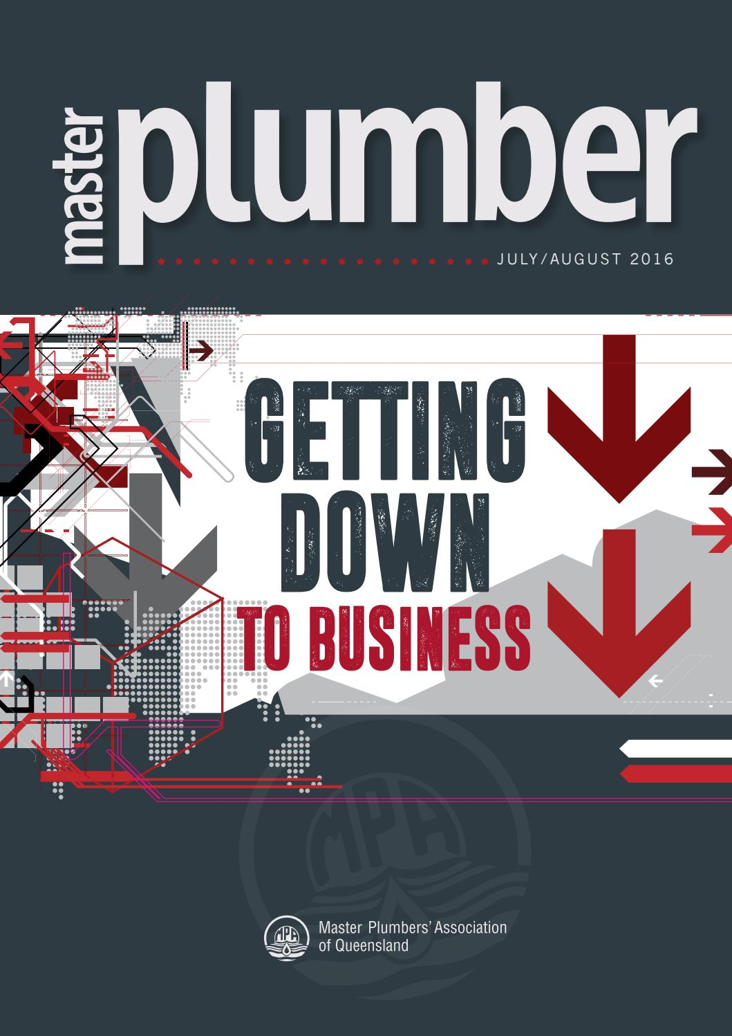 Master Plumber July August 2016 By Plumbers Association Of Queensland