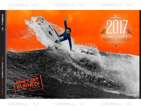 cf17d20657 O Neill Wetsuits Spring Summer 2017 US Product Catalog by O Neill ...