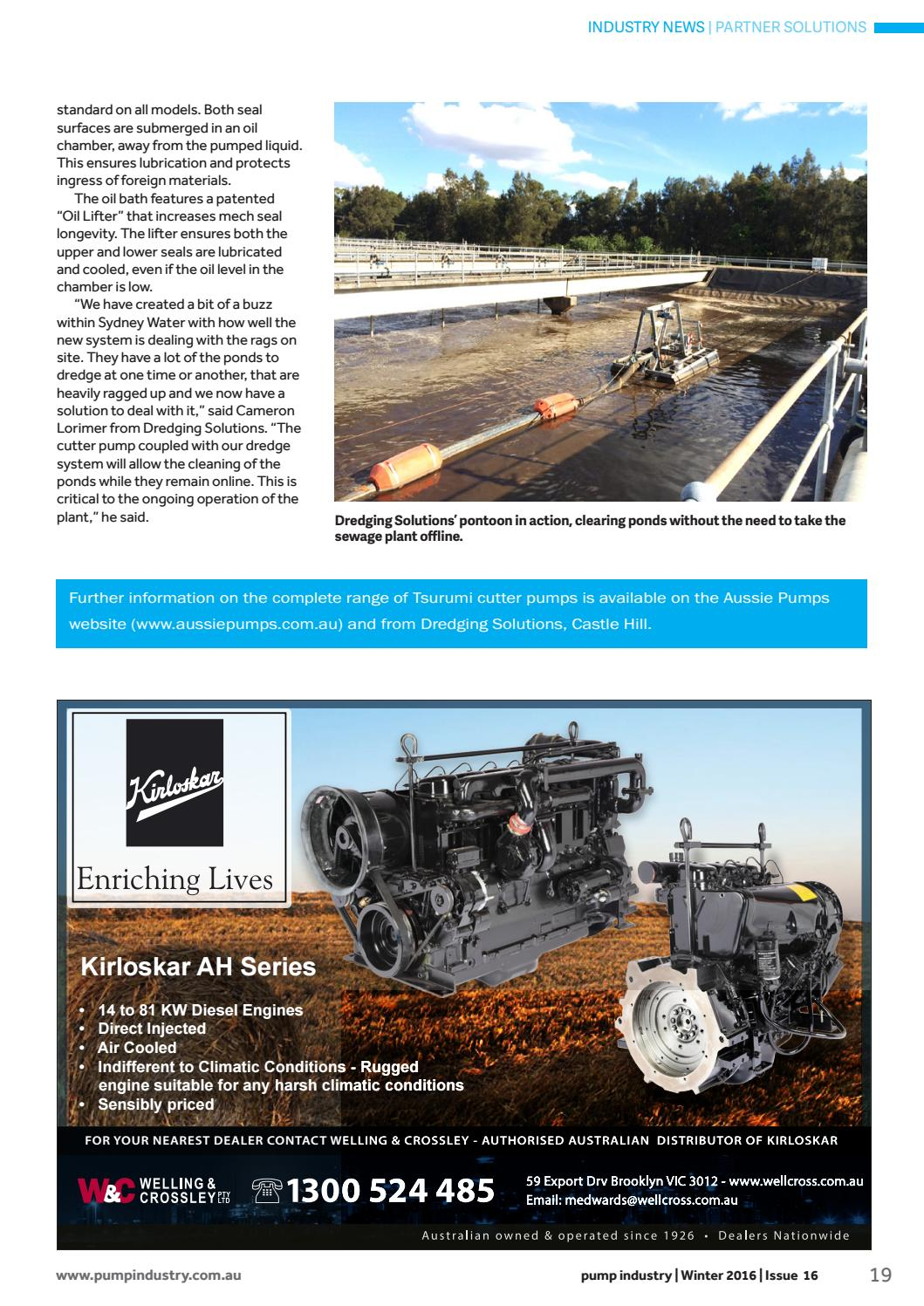 Pump Industry Winter 2016 Digital Edition by Monkey Media - issuu