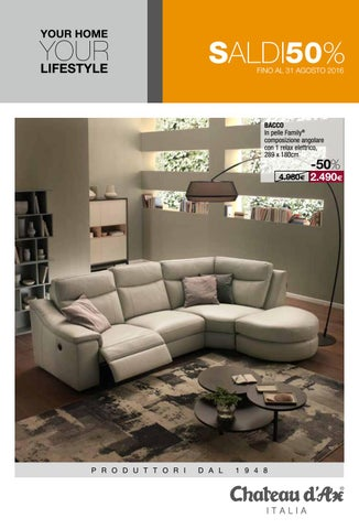 Chateau d ax catalogue by fino issuu - Chatodax divani letto ...