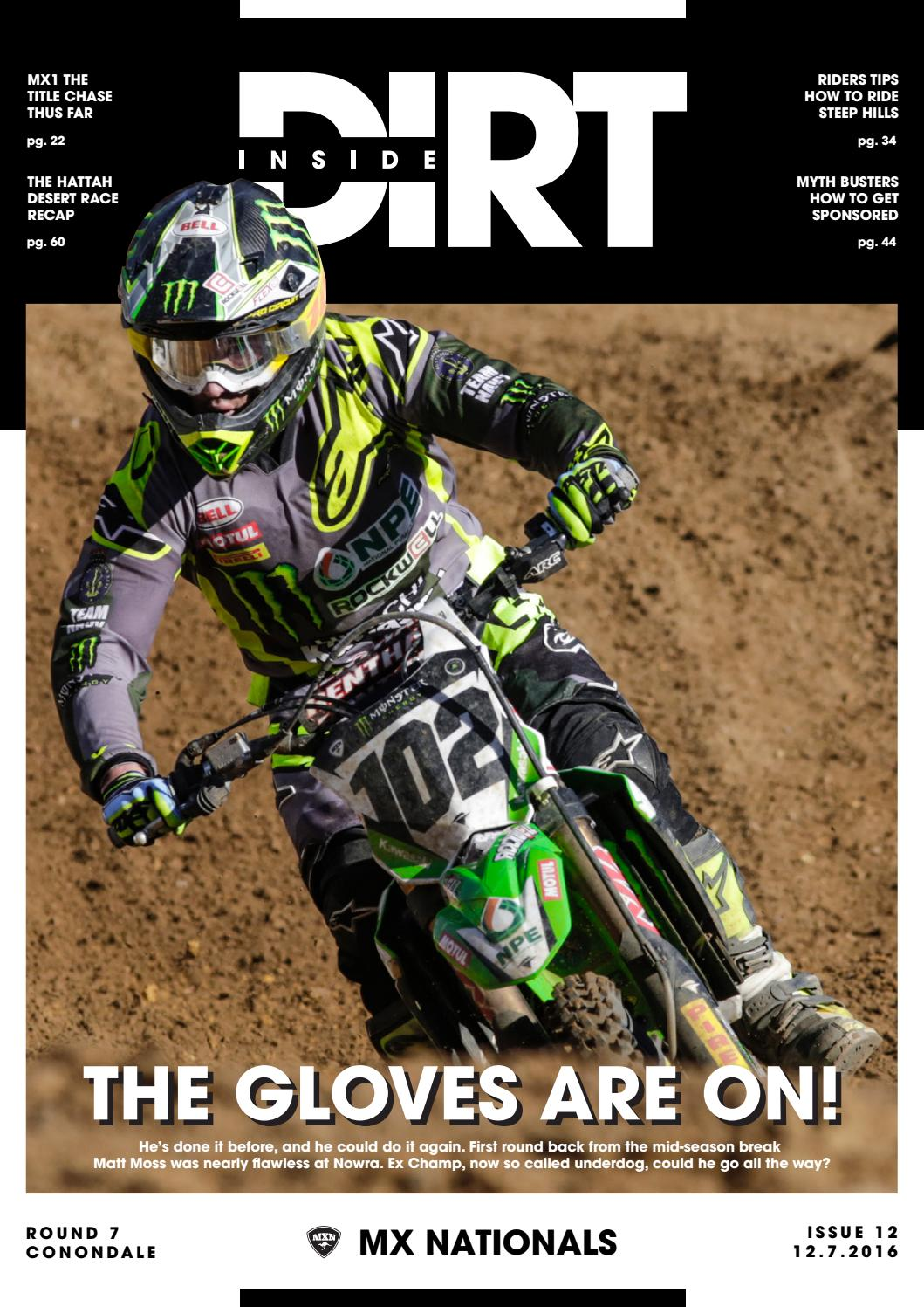 Inside Dirt - Issue 12: MX Nationals Round 7 by MX Nationals