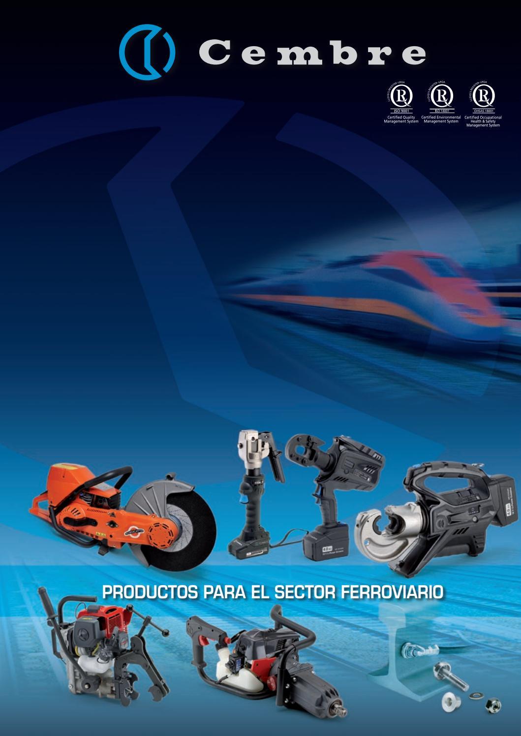 Productos para el sector ferroviario by Cembre S.p.A. - issuu