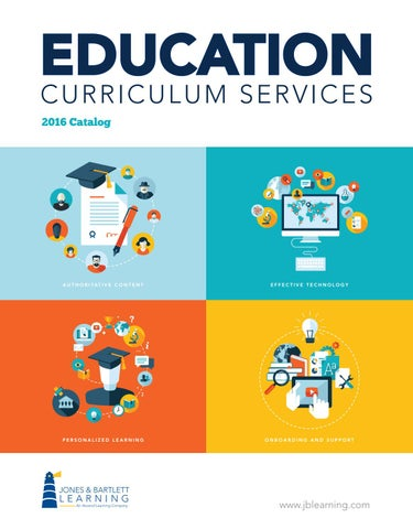 2016 education curriculum services catalog by jones bartlett page 1 fandeluxe Image collections