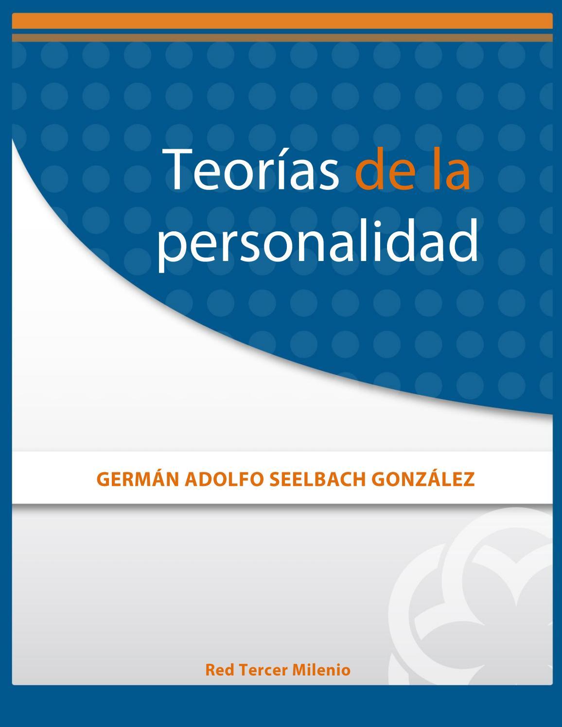 Teorías de la personalidad by Kgs More JEssi - issuu