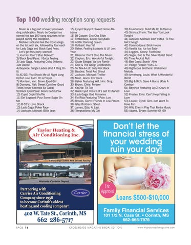 Top 100 Wedding Reception Song Requests Music Is A Big Part Of Every Post Celebration By Design Has Named The To Be