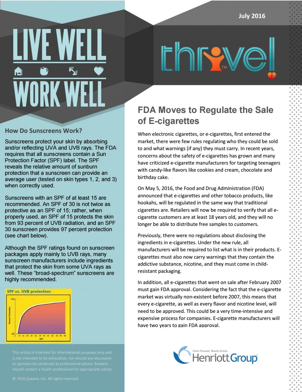 live well, work well | July 2016 by Henriott Group, Inc  - issuu
