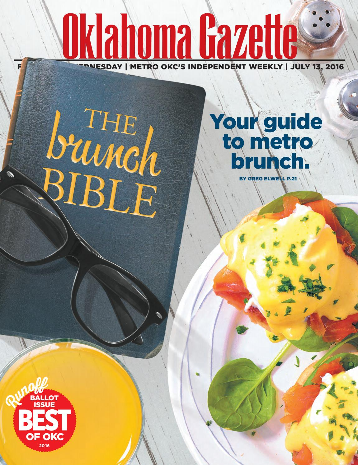 4b2ae52a003 The Brunch Bible by Oklahoma Gazette - issuu