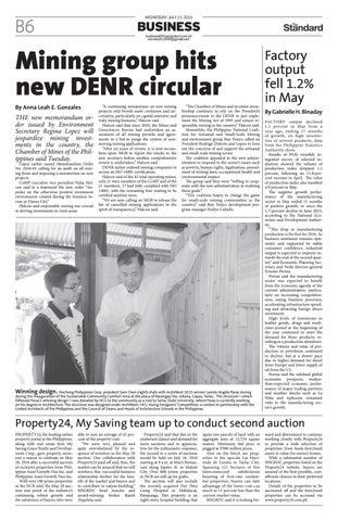 The Standard - 2016 July 13 - Wednesday by Manila Standard