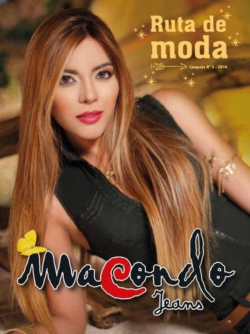 5566b7d167 Macondo jeans ventas por catalogo julio 16 colombia pdf by Juan ...