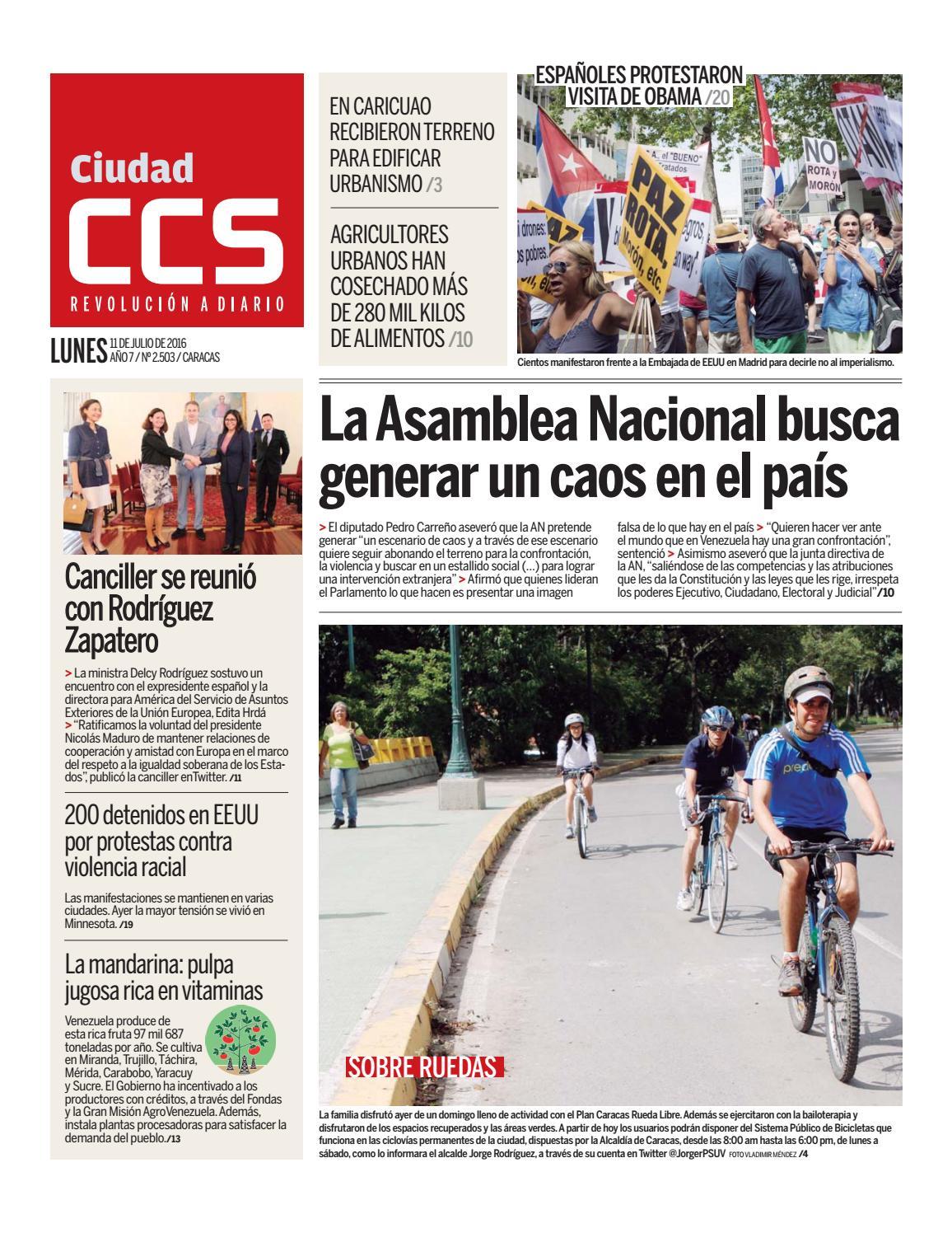 11/07/16 by Ciudad CCS - issuu