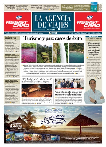 La Agencia de Viajes Colombia N° 202 by Ladevi Media & Solutions - issuu
