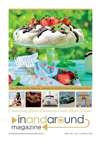 I A Mag Jul16 By In And Around Magazine Issuu