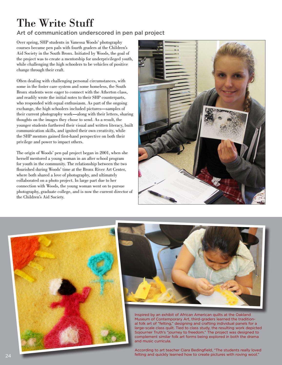 Sacred Heart Magazine, Summer 2016 by Sacred Heart Schools