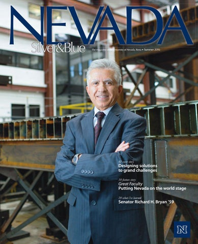 Nevada Silver & Blue Magazine - Summer 2016 by Nevada Silver
