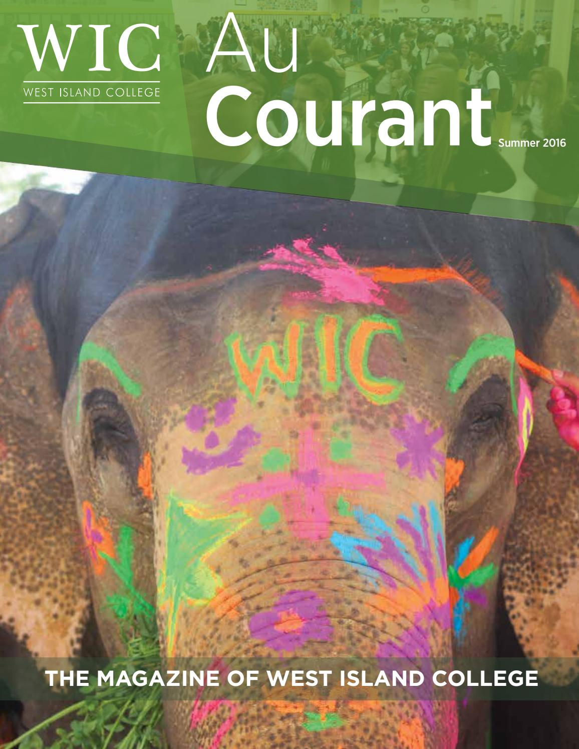 wic au courant summer 2016 by west island college issuu