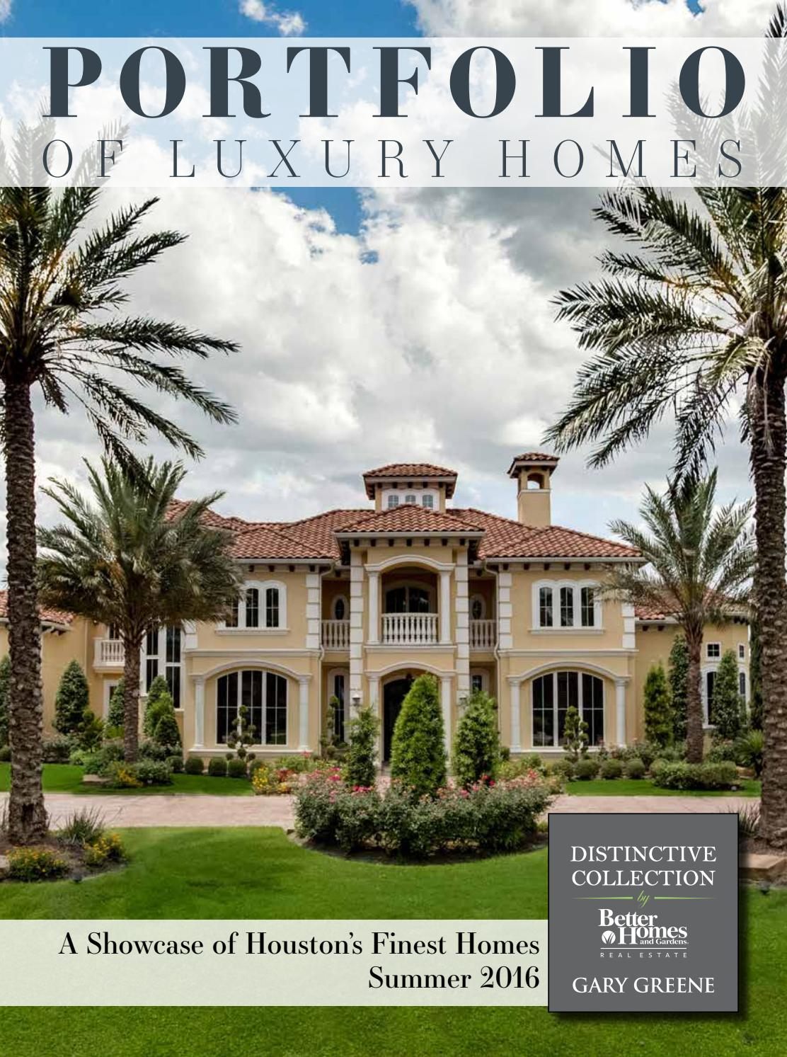 Portfolio Of Luxury Homes Summer 2016 Better Homes And Gardens Real Estate Gary Greene By