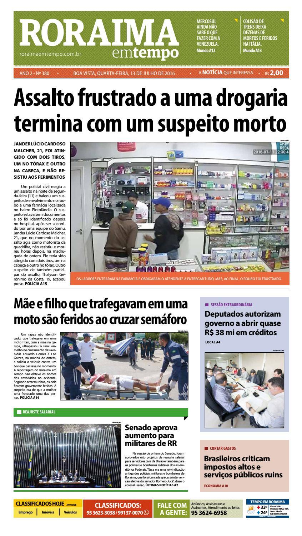 Jornal roraima em tempo – edição 380 – período de visualização gratuito by  RoraimaEmTempo - issuu e9a628771e