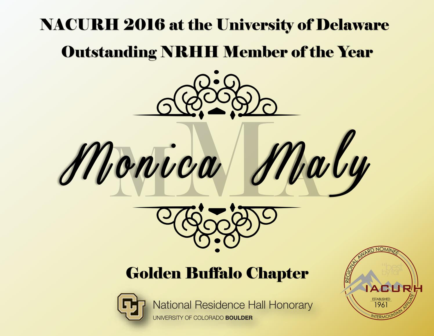 2016 nacurh outstanding nrhh member of the year by nacurh inc issuu xflitez Images