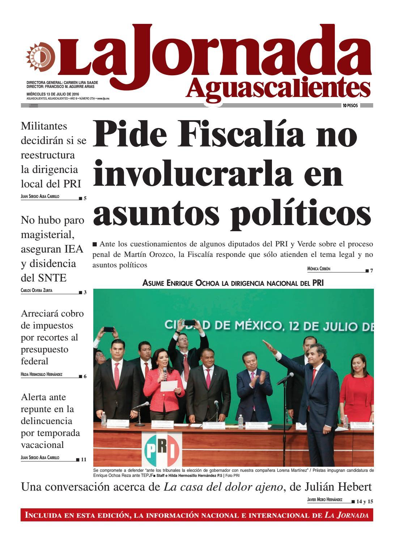 LJA13072016 by La Jornada Aguascalientes - issuu