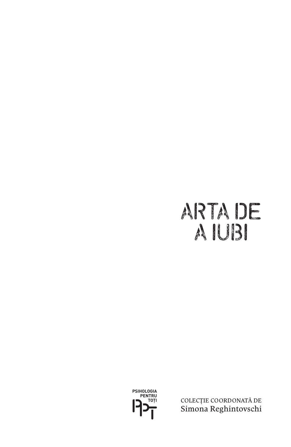 FROMM ARTA DE A IUBI PDF