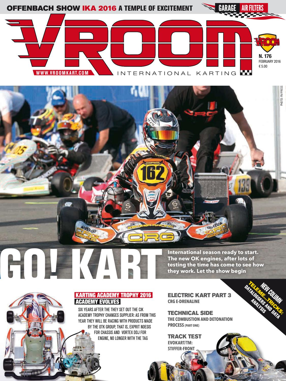 Vroom Kart International #176 - February 2016 by Vroom Kart ...
