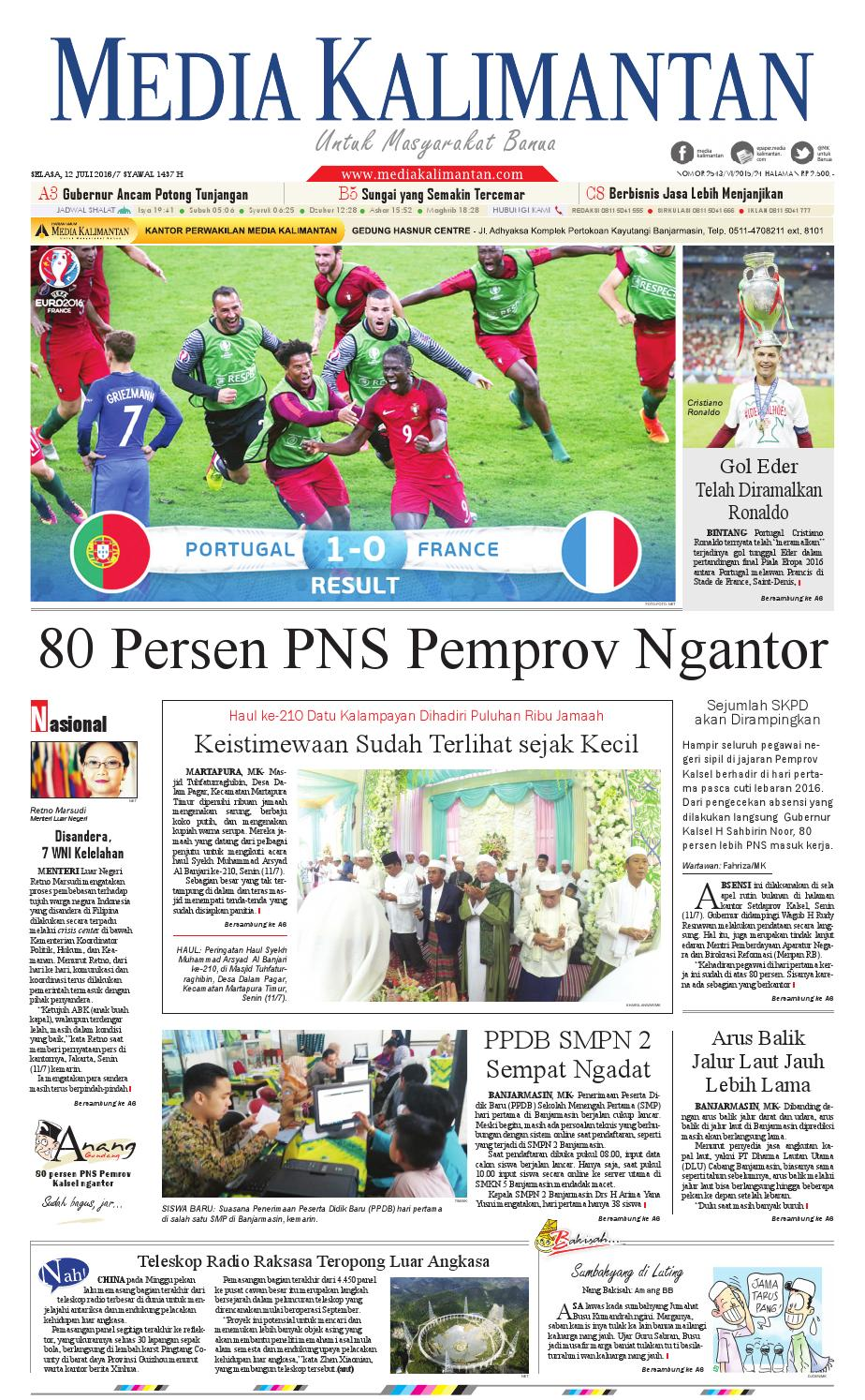Media Kalimantan Selasa 12 Juli 2016 By Issuu Produk Ukm Bumn Tenun Pagatan Atasan Wanita 4
