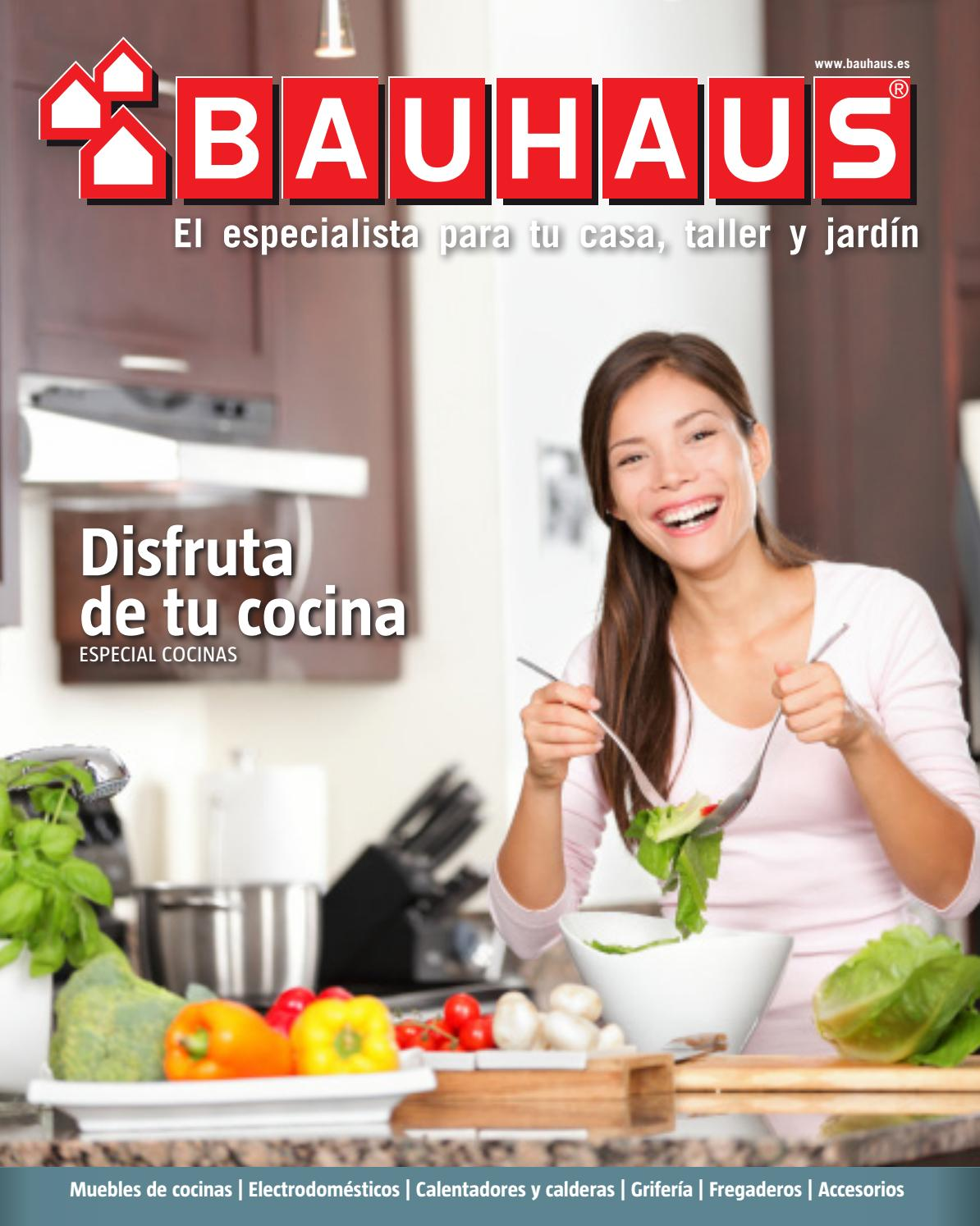 Especial cocinas by bauhaus issuu for Bauhaus griferia cocina