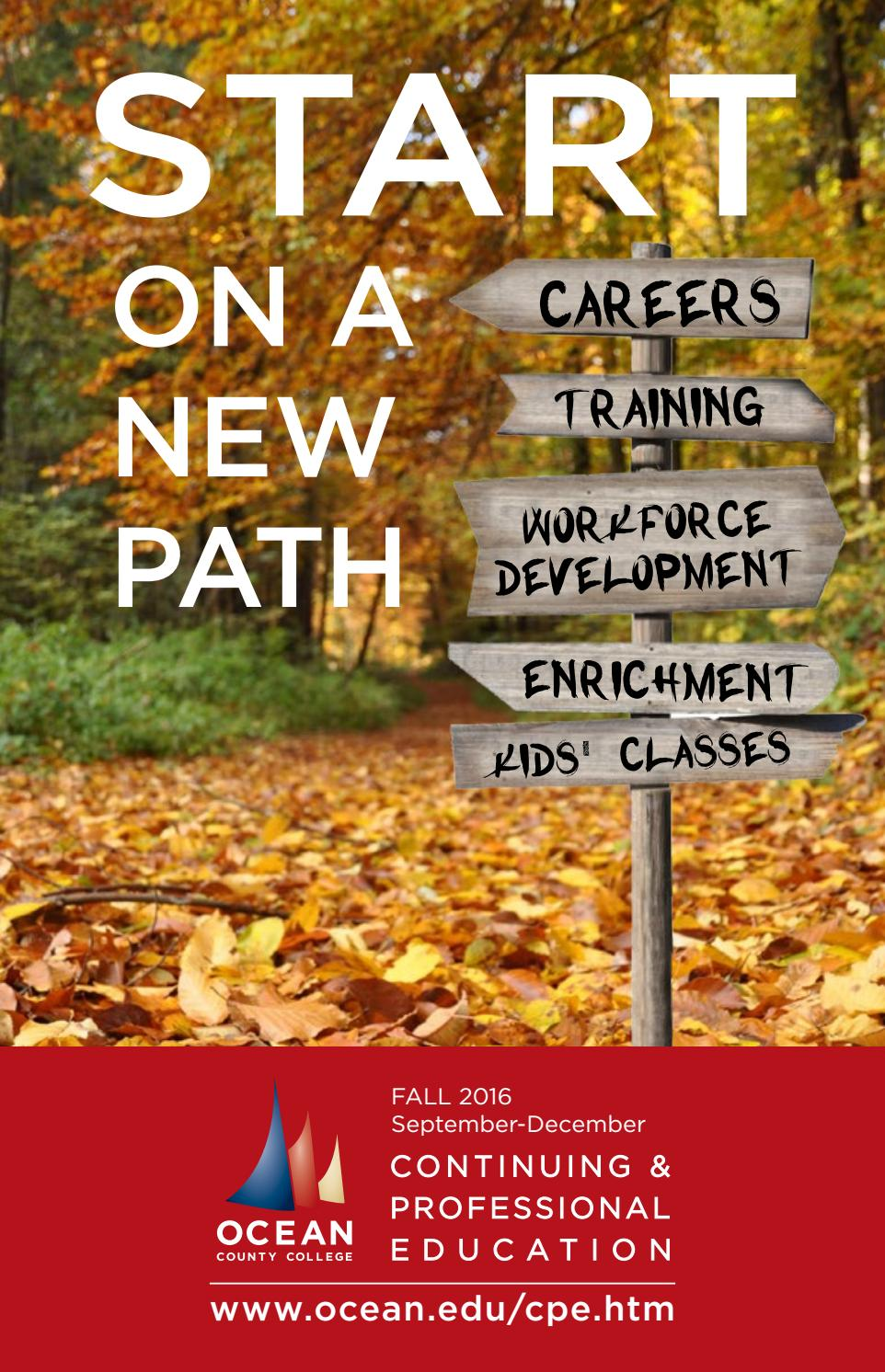 Fall 2016 catalog by Ocean County College - issuu