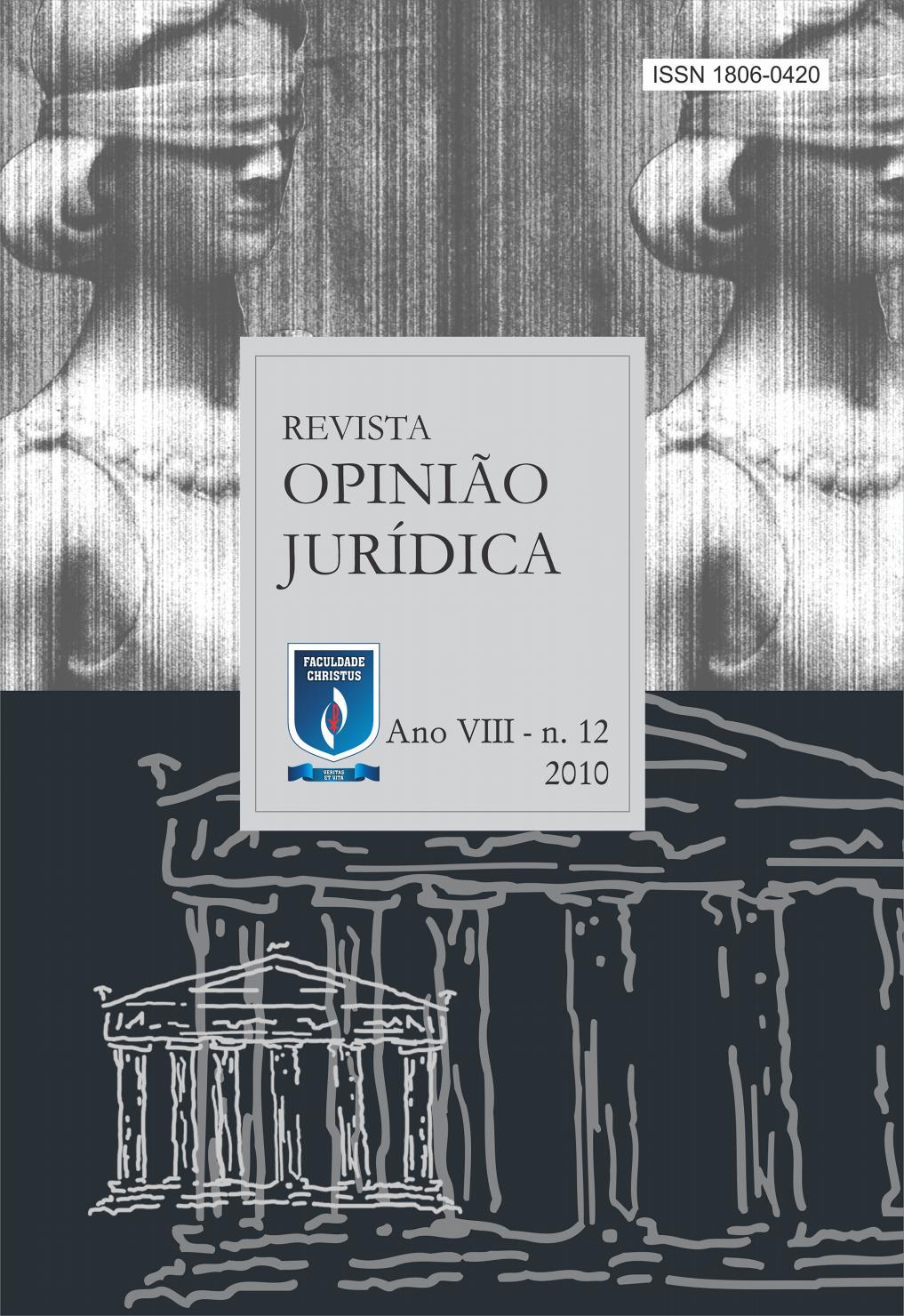 Revista Opinio Jurdica 12 By Unichristus